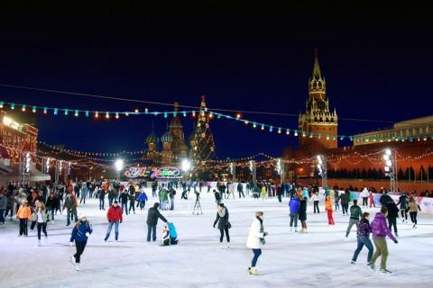 Ледовые катки Москвы