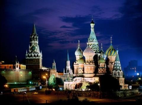 Достопримечательности Москвы.