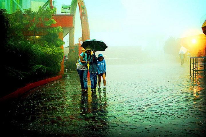Дождь в Малайзии