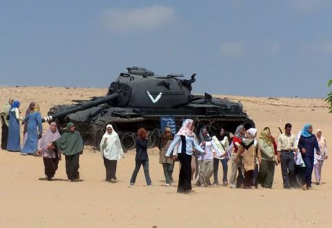 Танки в Египте