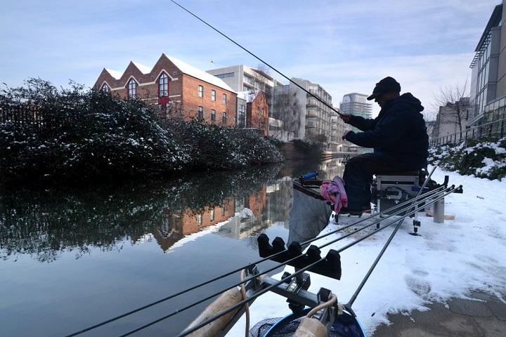 фото зимняя рыбалка