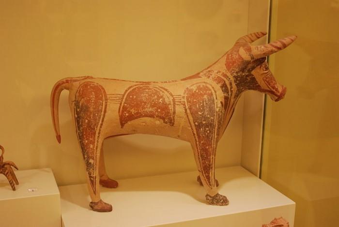 Ираклион, экспонат Археологического музея, фото George Groutas