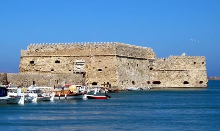 Ираклион, Венецианская крепость Кулес, фото macropoulos