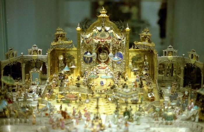 Часть экспозиции музея «Зеленые своды», Дрезден