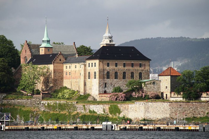Крепость Акерсхус в Осло, фото Bjoertvedt