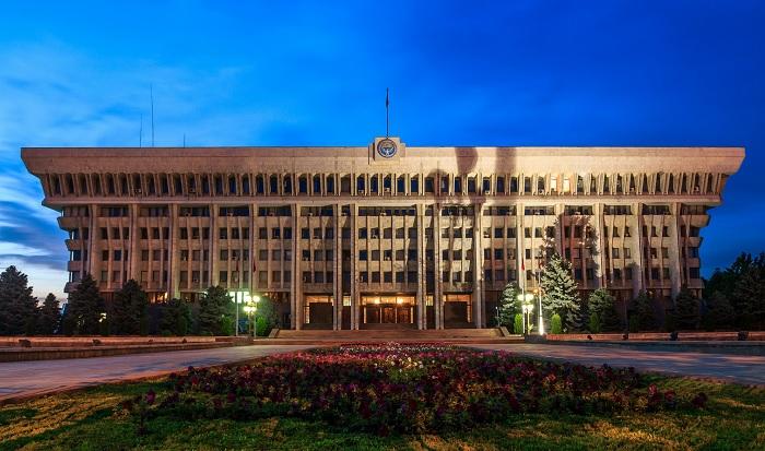 """""""Белый дом"""" в Бишкеке, фото Frans Sellies"""