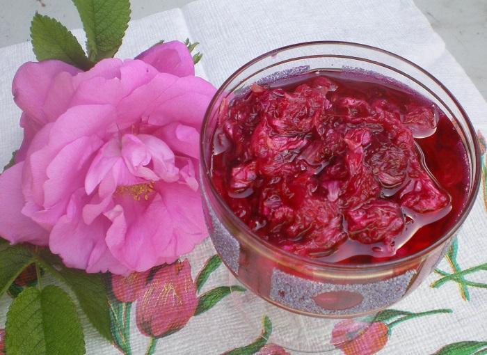 Розовое варенье, фото delishis