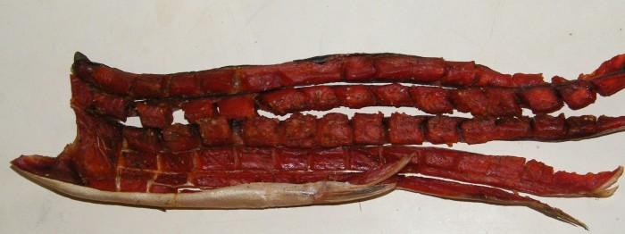 Юкола, сушено-вяленое мясо рыбы, фото Andshel
