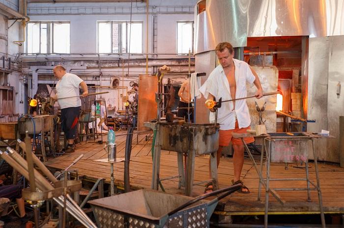 Стекольный завод Rückl Crystal, фото Stanislav Vasko