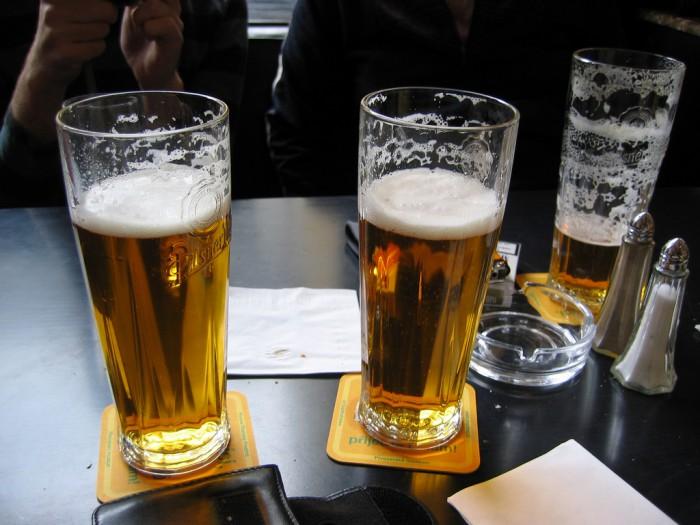 Пиво в Праге, фото Linnie