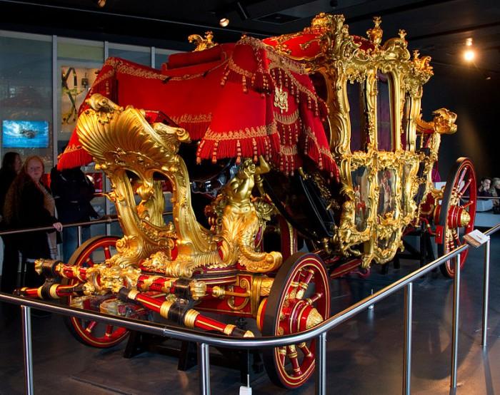 Карета лорда-мэра Лондона в музее истории, фото Tony Hisgett