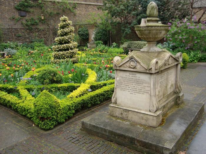 При музее истории садоводства в Лондоне, фото Duca di Spinaci