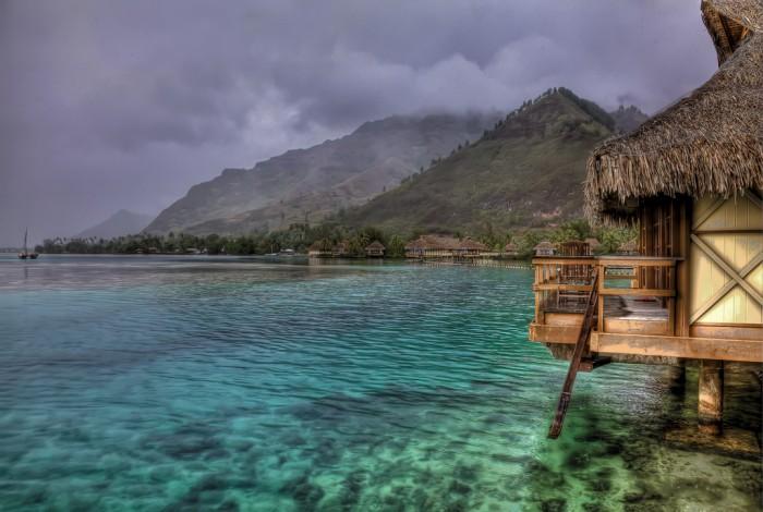 Таити, пейзаж, автор vgm8383