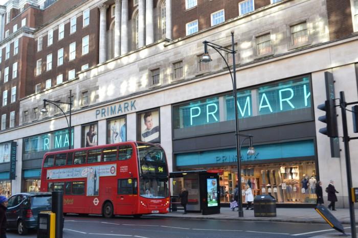 Primark, Лондон