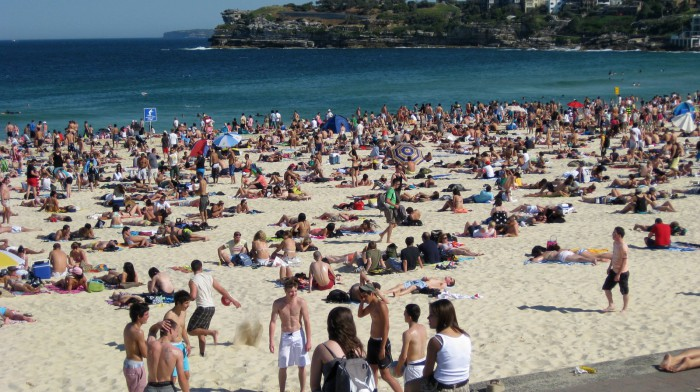 Бонди Пляж в Австралии