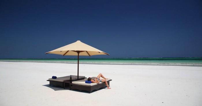 Diani пляж в Кении