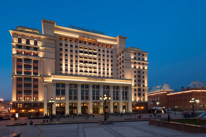 FOUR SEASONS - Landmark Hotel Moskva Reborn as Four Seasons