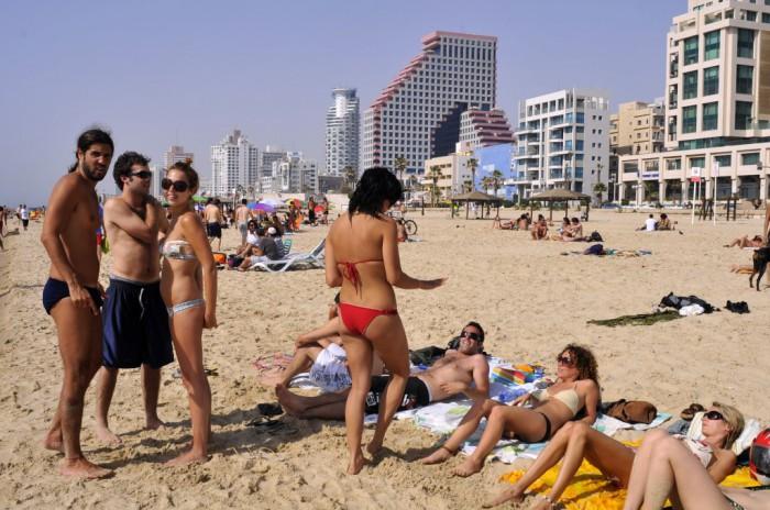 Пляжи в Тель-Авиве, Израиль