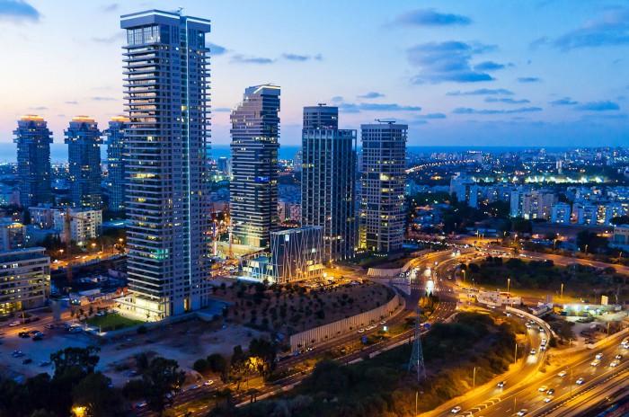 Современный Тель-Авив, Израиль
