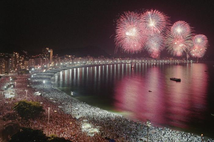 Новый год в Рио, Бразилия