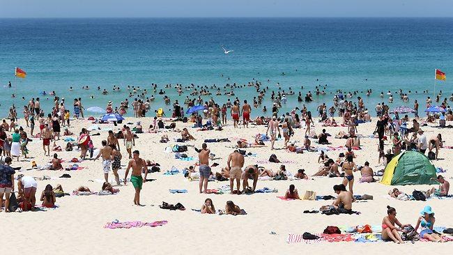 Бонди пляж в Сиднее, Австралия
