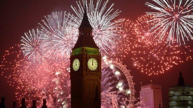 Лондон, Новый Год