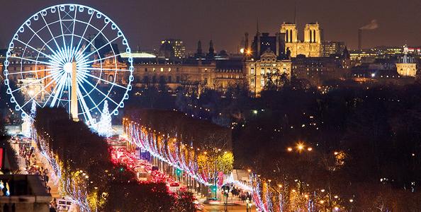 Новый Год, Париж