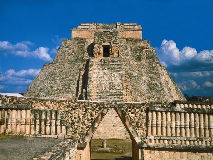 Руины Ушмаля, Мексика