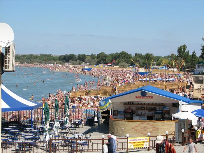 Пляж Анапа, Россия