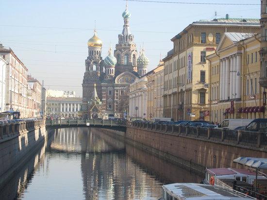 Канал Грибоедова, Санкт-Петербург, Россия